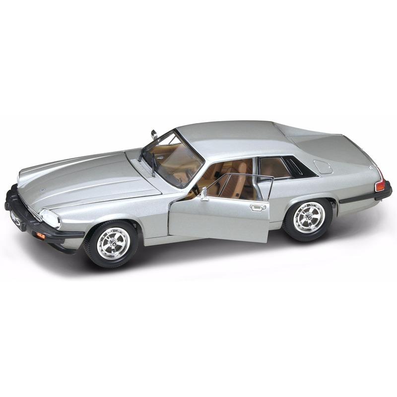 Geen Speelgoedauto Jaguar XJS zilver Speelgoedvoertuigen