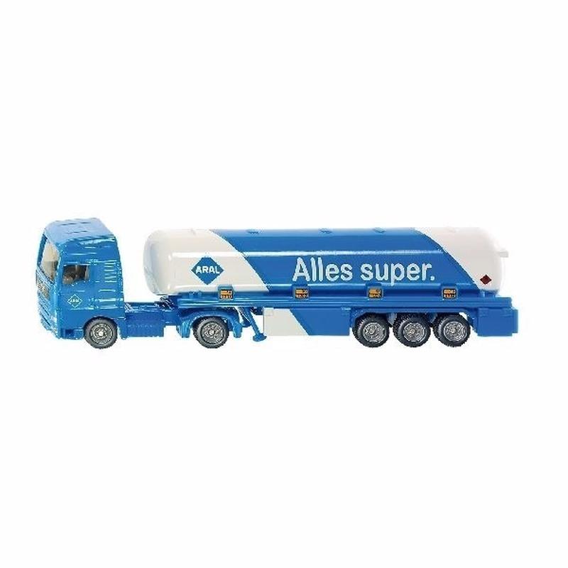 Speelgoedvoertuigen Siku Speelgoedauto SIKU Aral tankwagen 1626