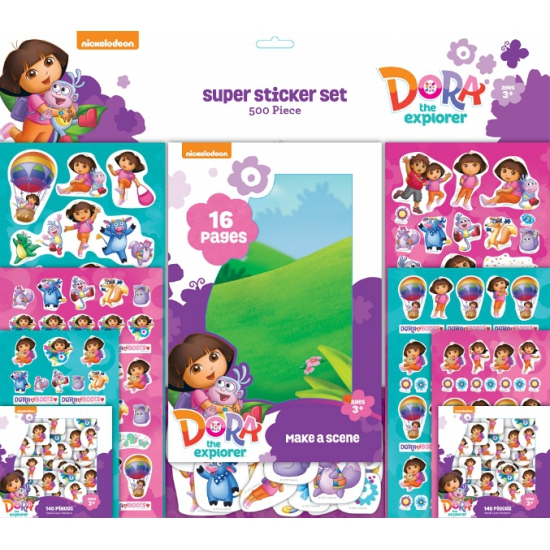 Sticker Album Van Dora