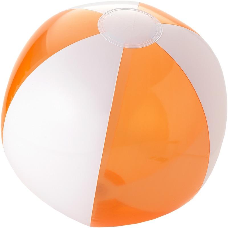 Strandbal opblaasbaar oranje