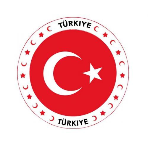 Turkse thema bierviltjes Shoppartners Landen versiering en vlaggen