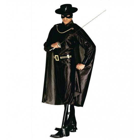 Zorro kostuum voor volwassenen. dit zorro kostuum voor volwassenen is het perfecte kostuum voor bijvoorbeeld ...