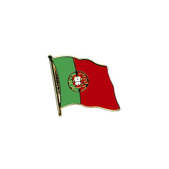 Landen versiering en vlaggen Vlag speldjes Portugal