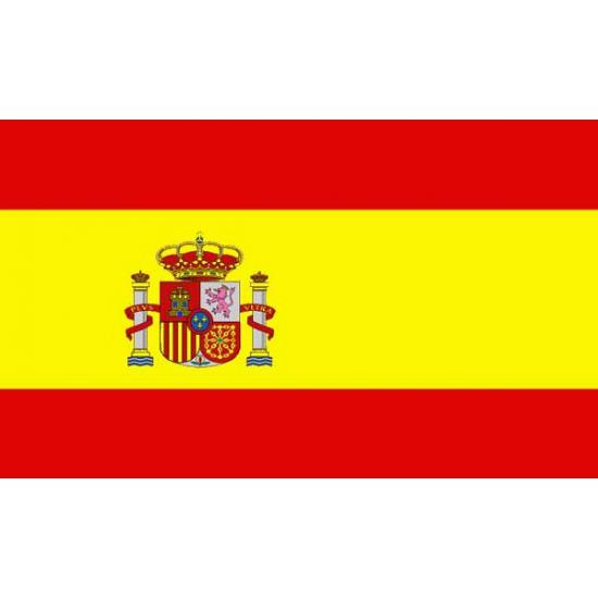 Landen versiering en vlaggen Vlag van Spanje mini formaat 60 x 90 cm