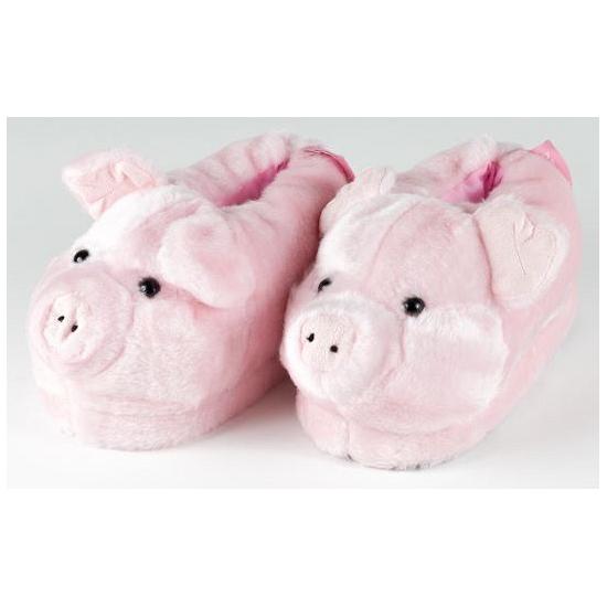 Volwassenen dieren pantoffels varken Geen Beste kwaliteit