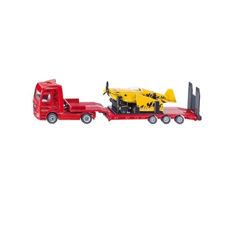 Speelgoedvoertuigen Siku Vrachtwagens met vliegtuig