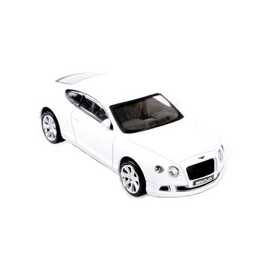 Witte modelauto Bentley Continental GT Geen Koopje