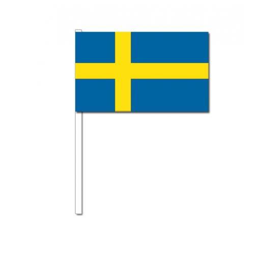 Geen Zwaaivlaggen Zweden Landen versiering en vlaggen