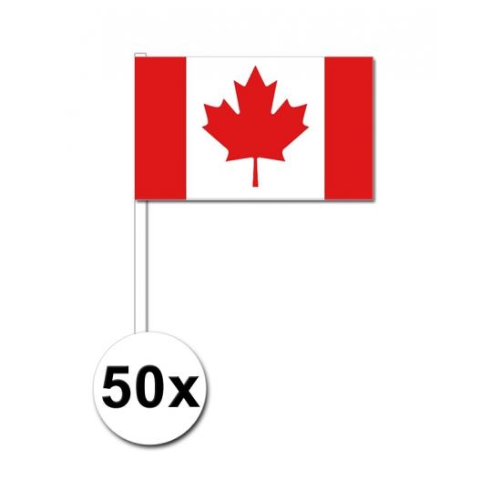 €2500000 Bespaart Geen Zwaaivlaggetjes Canada 50 stuks
