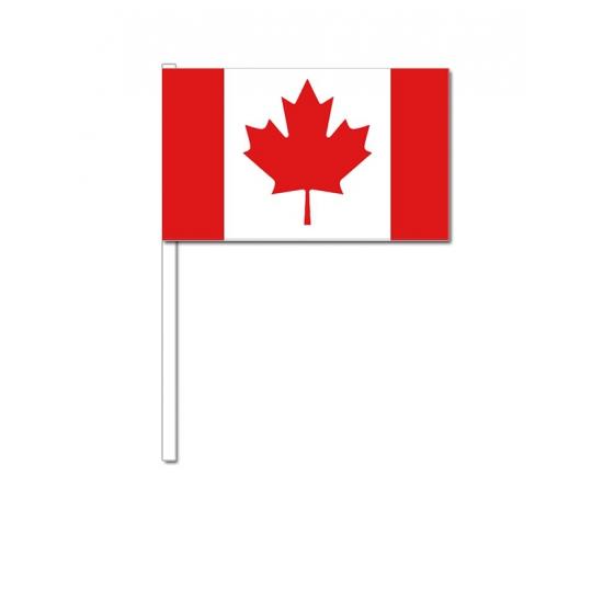 Landen versiering en vlaggen Geen Zwaaivlaggetjes Canada