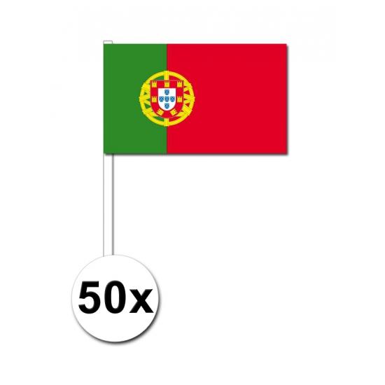 €2500000 Korting Geen Zwaaivlaggetjes Portugal 50 stuks