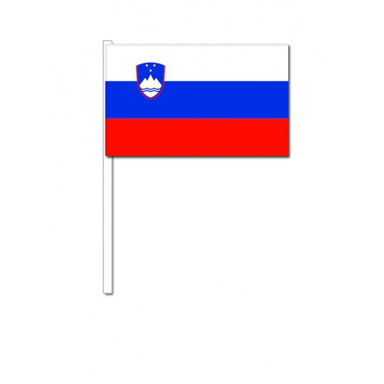 Zwaaivlaggetjes Slovenie Geen Premier