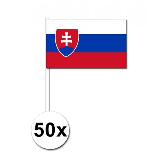€2500000 wijzer in geldzaken Geen Zwaaivlaggetjes Slowakije 50 stuks
